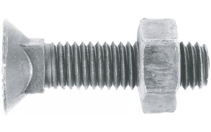 DIN 608 • pevn.tř. 10.9 • mikrolamelový zinkový povlak