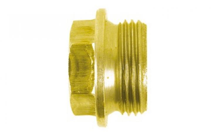 DIN 7604 • forma A • pevn.tř. 5.8 • žlutý zinek