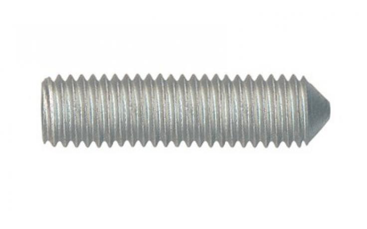 ISO 4027/DIN 914 • 45H • mikrolamelový zinkový povlak