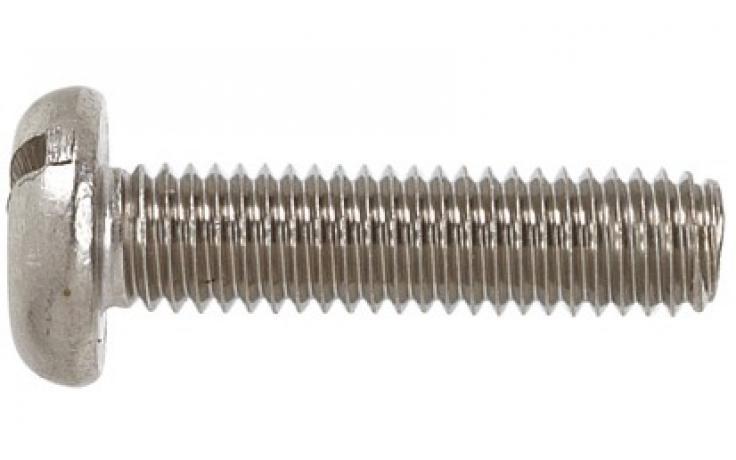 DIN 85 • nerez A2 • průběžná drážka