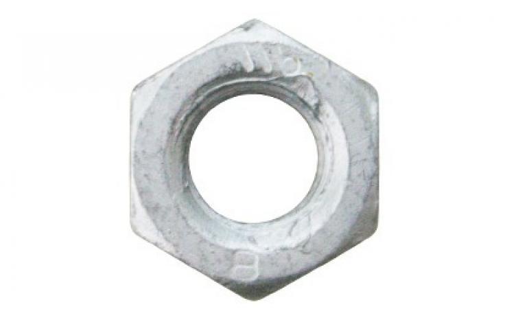 ISO 4032 • pevn.tř. 8 • mikrolamelový zinkový povlak + Topcoat