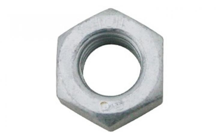 DIN 934 • pevn.tř. 6/I8I • levý závit • mikrolamelový zinkový povlak + Topcoat