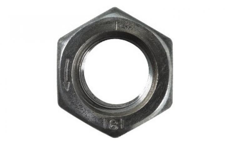 ISO 4032, ocel, pevn.tř. 8, levý závit, pozink