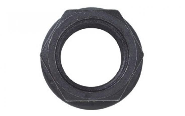 Forma B, plochý nákružek, ocel, pevn.tř. 10, černěné