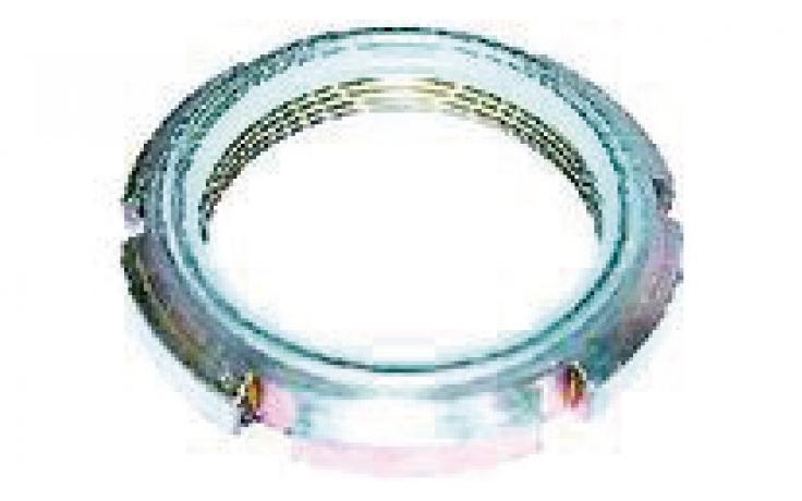 Matice kruhové, ocel, pojistný koužek, BPÚ