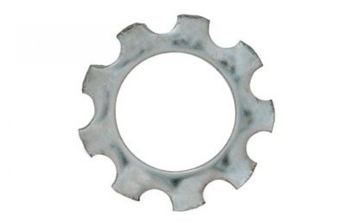 DIN 6797, vnější ozubení, ušlechtilá ocel nerez A2
