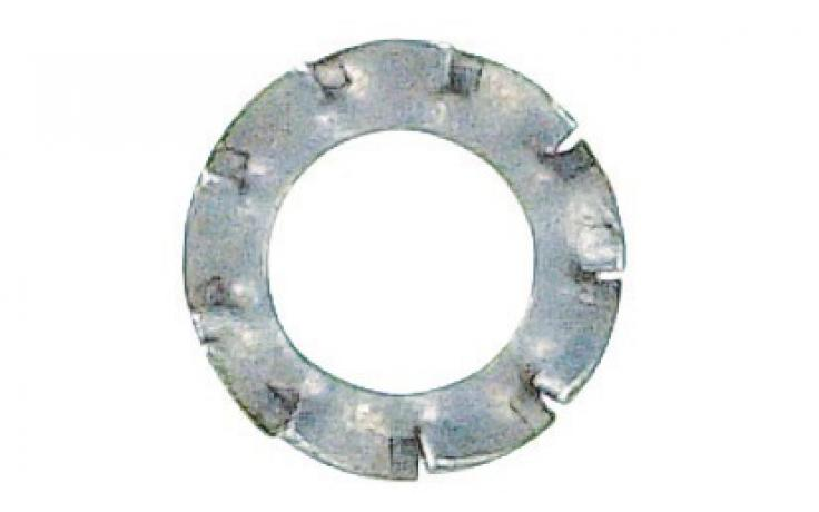 DIN 6798, forma V, ušlechtilá ocel nerez A2
