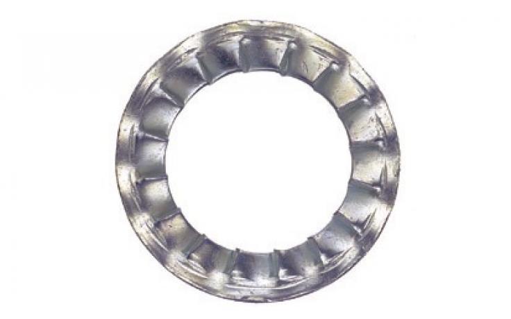 DIN 6798, forma I, ušlechtilá ocel nerez A2