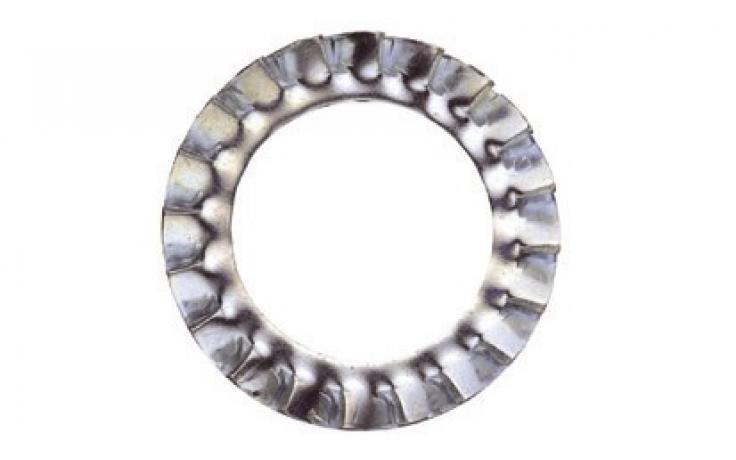 DIN 6798, forma A, ušlechtilá ocel nerez A4