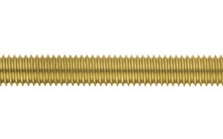 DIN 976-1, závitové tyče, 1 metr, mosaz, BPÚ