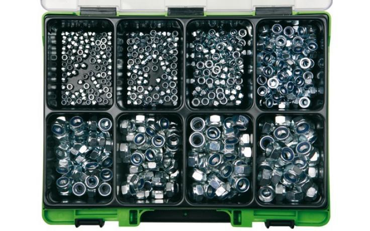 Sortimenty DIN 985-8 pozinkované