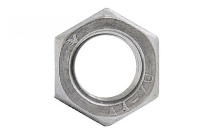 ISO 4032, ušlechtilá ocel nerez A4-70 TÜV AD-W2