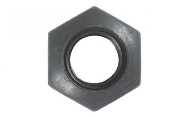 DIN 6330, forma B, pevn.tř. 10, jemný závit, černěné