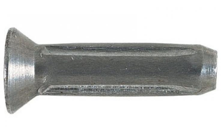 Rýhované hřeby se zápustnou hlavou DIN 1477 (ISO 8747), ocel, BPÚ