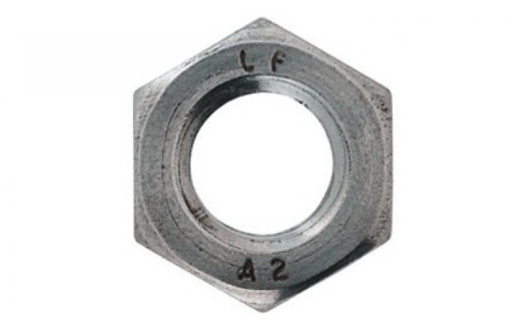 DIN 439 • forma B • A2 • jemný závit
