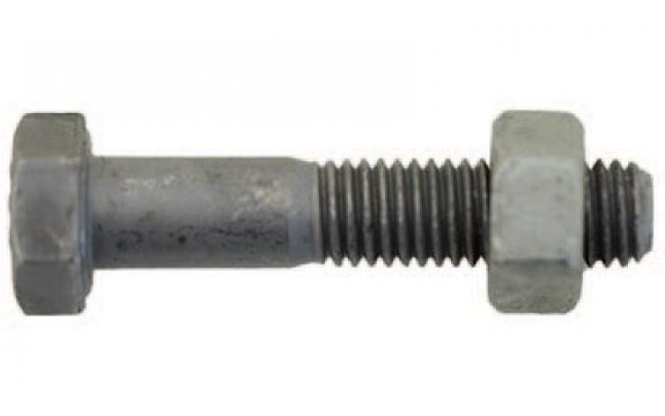 ISO 4014|4032, p.tř. 8.8|8, žárový zinek, EN 15048, CE konformní