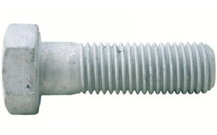 ISO 4014 • pevn.tř. 8.8 • žárový zinek