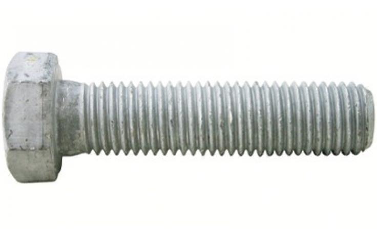 DIN 933 • pevn.tř. 8.8 • žárový zinek