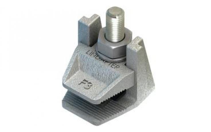 Svorka • příruba •typ F3 • temperovaná listina • žárový zinek