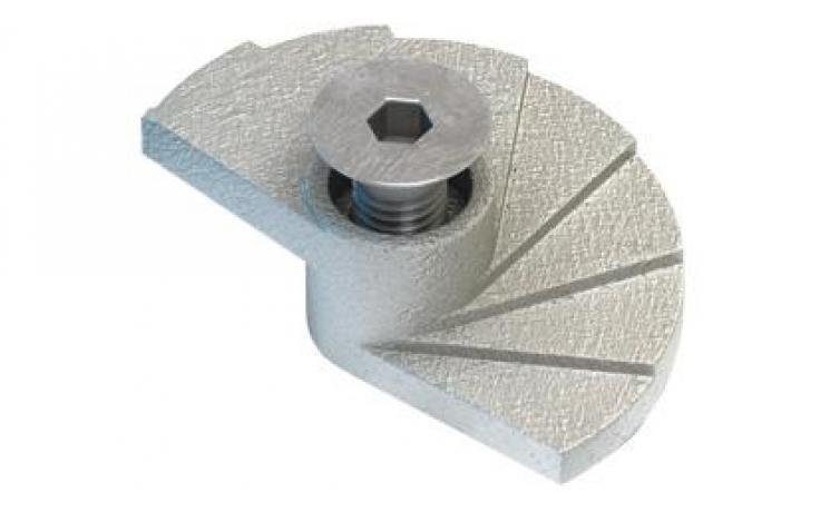Svorka • Floorfast • typ FF • temperovaná litina • galv. zinek