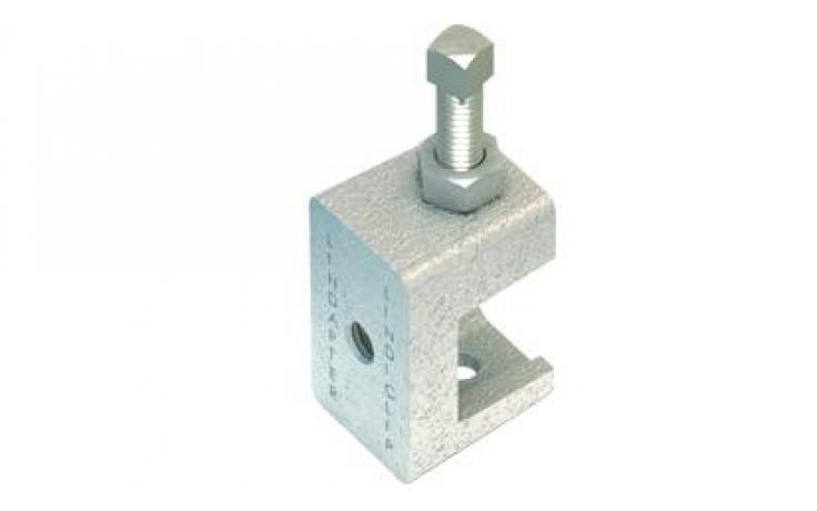 Svorka • příruba • závit • typ LC • temperovaná listina • galv. zinek