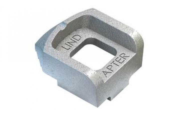 Standardní svorka • typ A • temperovaná listina • žárový zinek