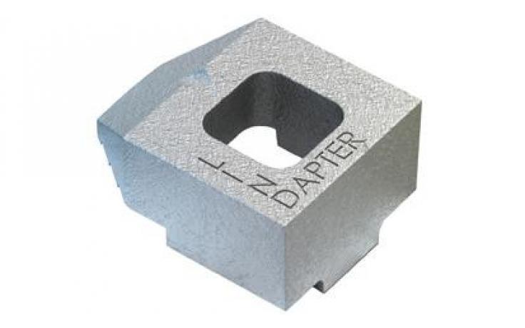 Standardní svorka • typ B • temperovaná listina • galv. zinek