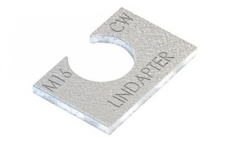 Vyrovnávací kus (pro A/B) • typ CW • plochá ocel • žárový zinek