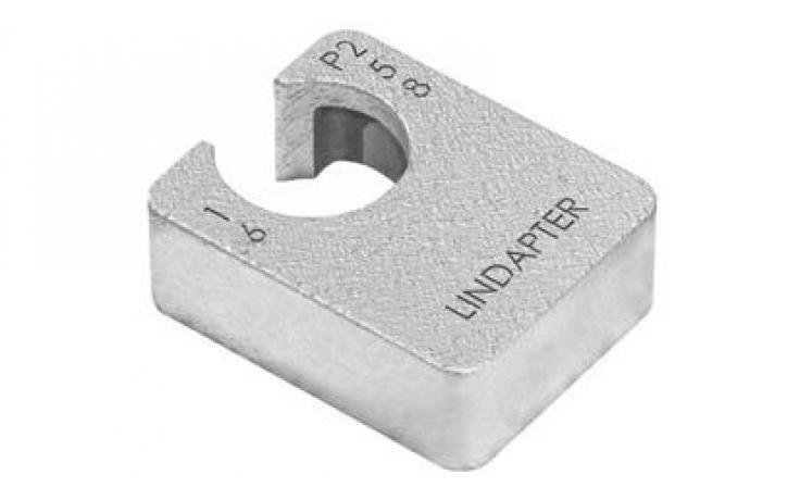 Vyrovnávací kus (pro LR/D2) • typ P1 • dlouhý • temperovaná listina • galv. zinek