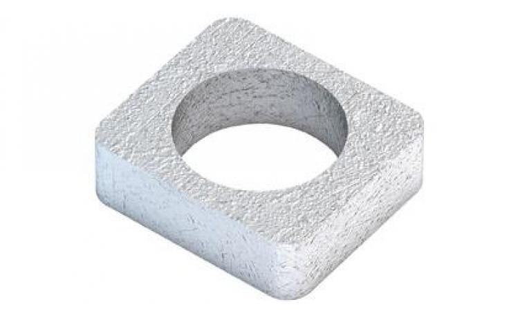 Vložka pro A • typ W • plochá ocel • žárový zinek