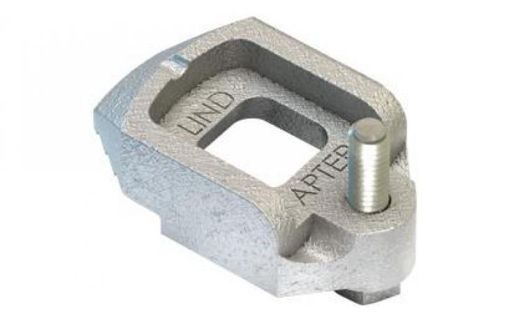 Svorka • stavěcí šrouby • typ D2 • temperovaná listina • žárový zinek