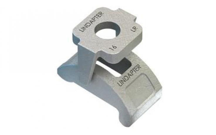 Svorka • dvojitá • typ LR • temperovaná listina • žárový zinek