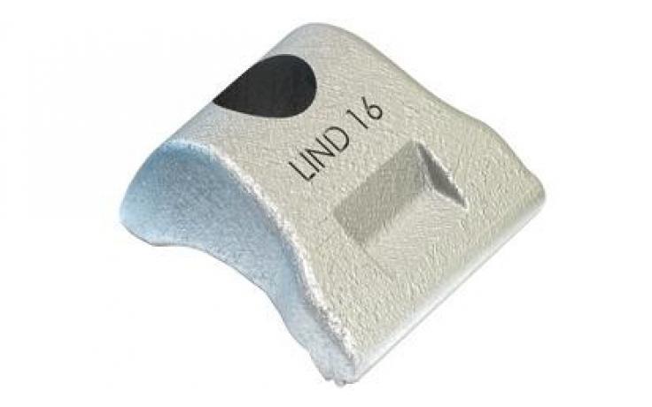 Svorka • typ LS • nerez ocelová litina 1.4408