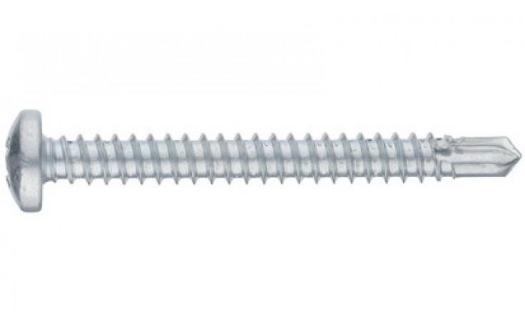 RECA Selbstbohrschrb.m.Linsenkopf+Kreuzschl.H1 2,9x16 mm ähnl.DIN7504N verzinkt