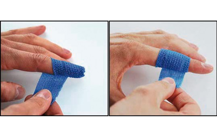 Fingerschnellverband Blau 3 cm x 7 m