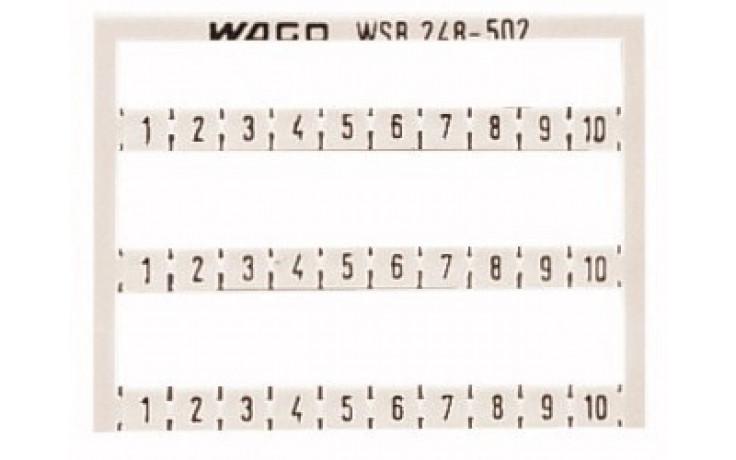 """Mini-WSB Schnellbez""""1-10"""" (1Stk=1Karte)"""