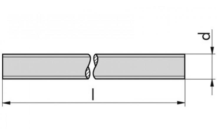 Ankerstange VM-A Stahl 8.8 A2K WAZ 3.1 M 8 x 1000 mm