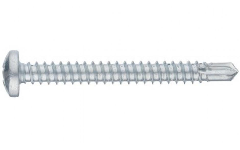 RECA Selbstbohrschrb.m.Linsenkopf+Kreuzschl.H2 3,9x16 mm ähnl.DIN7504N verzinkt