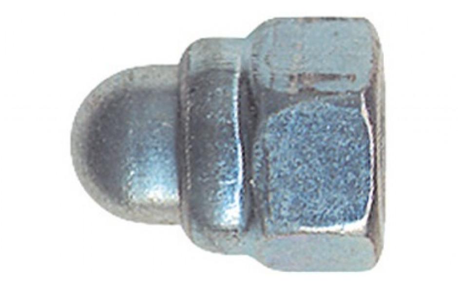 Stopp-Hutmuttern DIN 986 M16 DIN 986 FKL 8 Stahl verzinkt