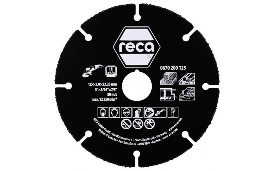 RECA Trennscheibe Multi Cut 125 x 2,0 x 22,2 PAK = 2 ST