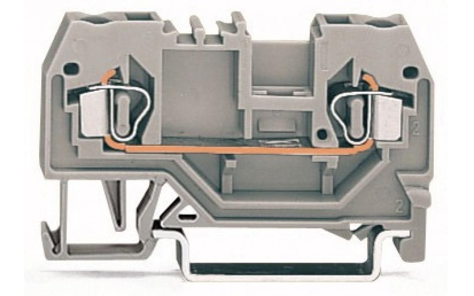 2-LEITER DURCHGANGSKL. 0,08-2,5mm2, 2 6A
