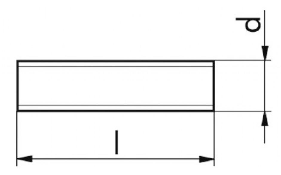 Gewindestück DIN 976-1-A - A2-70 - M8 X 130