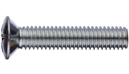 Gew.Schrb. m. Lins.Senkkopf u. Kreuzschlitz M3x16 DIN 966 FKL 4.8 Stahl verzinkt