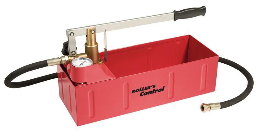 Druckprüfpumpe 60 Bar Roller Control