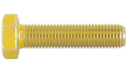 Sechskantschrauben M14 x 1,5 x 60 DIN 961 FKL 8.8 Stahl gelb verzinkt