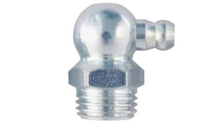 Kegelkopf-(Hydraulik) Schmiernippel, Gewinde: UNF 3/8Zo x 24, 90°