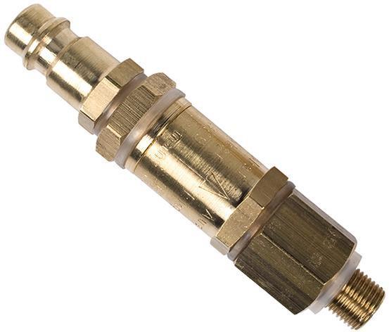 MESTO Druckluft-Füllventil mit Steckuppel für Schalölspritze