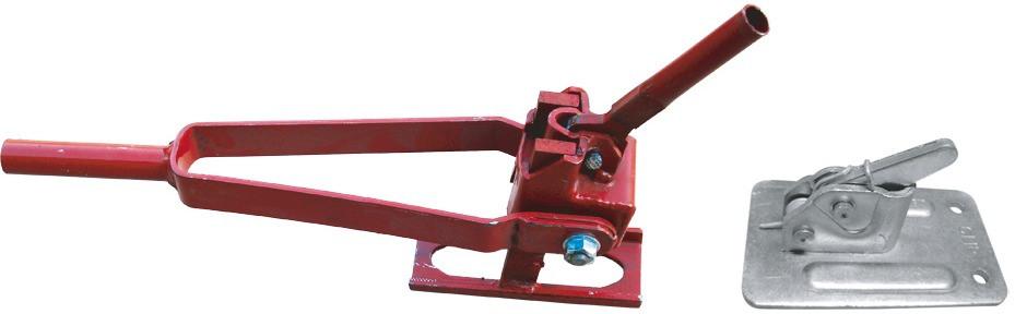 Clip Schalungsklemme für Rundmaterial 6 - 10 mm