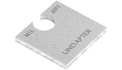 Lindapter® Unterlegscheibe Typ AFP1 - Stahl - feuerverzinkt - AF20P1