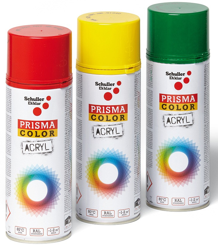 PRISMA COLOR Lack Spray RAL 6001 400 ml